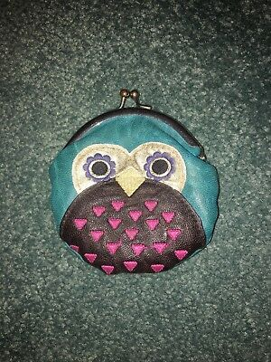 Childrens Kids Ladies Small Coin Cards Purse Small Pouch Bag Owl