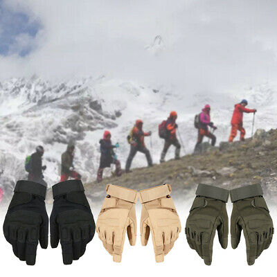 Military Sports Hiking Full Finger Anti Skid Protection Tactical Gloves
