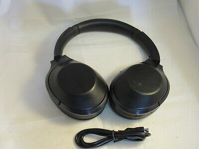 Sony MDR-1000X Wireless Bluetooth Noise-Cancelling OverEar Headphones BLACK