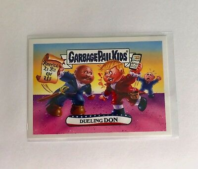 Garbage Pail Kids Disgrace To The Whitehouse: Dueling Donald Trump 363 Print Run