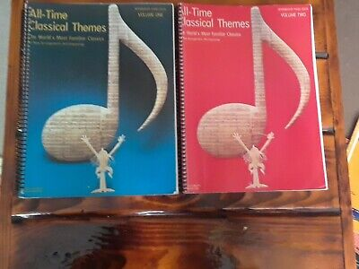 All-time Classical Themes Volume 1 And 2 Intermediate Piano Solo