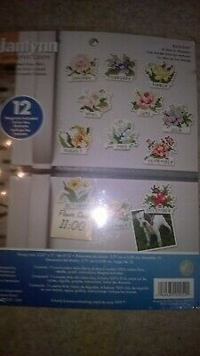jANLYNN-  Cross stitch kit - A year of flowers with magnets - 023-0597
