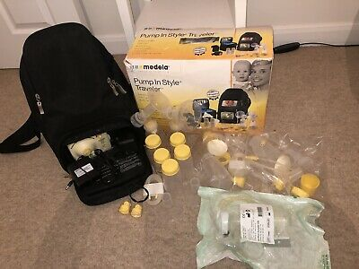 Medela Travel Double Breast Pump 'Pump In Style' Advanced With New Accessories!