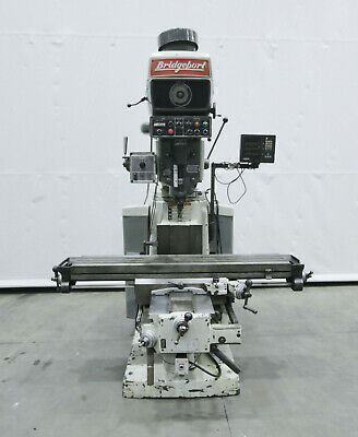 "14106 Bridgeport Series II Vertical Knee Mill, 11"" x 58"" Table"