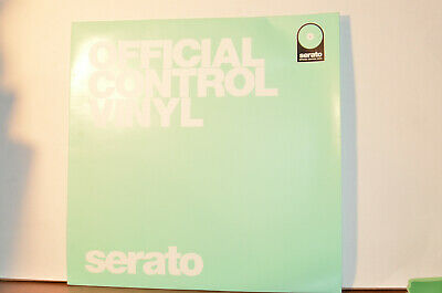 2 - Serato Scratch Live systems DVS Official Control Vinyl - Glow in the Dark