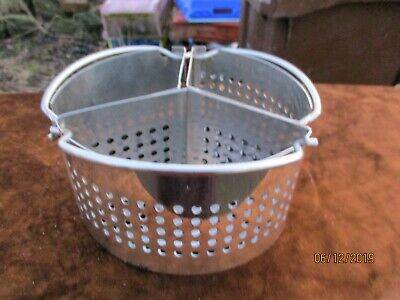 3 Stainless Steel Steamer Baskets Separators for Pressure Cooker.
