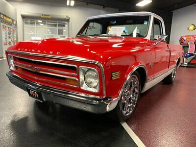 1968 C-10  1968 Chevrolet C-10 Automatic 2-Door Truck 350 auto CUSTOM nice CLEAN stance