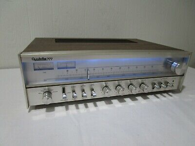 Quadraflex 777 Stereo Receiver w/ LED Upgraded Dial Lamps ------->Cool!!!