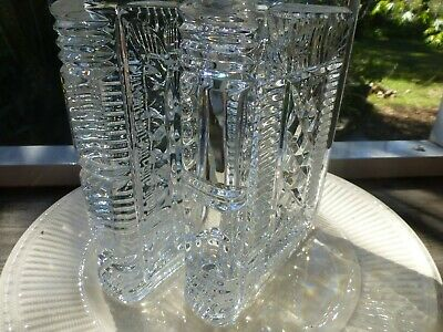 Waterford Crystal Walden Bookends