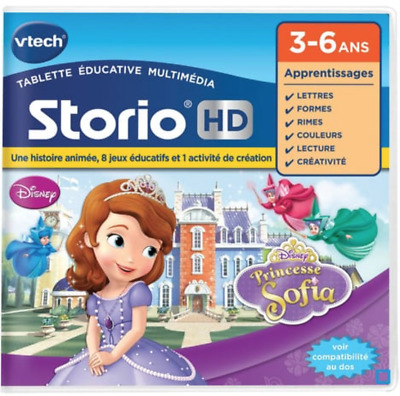 Vtech Storio Hd Disney Princesse Sofia Console Tactile Jeu Educatif Game Jouet N