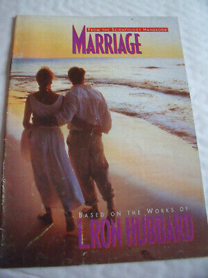 MARRIAGE, SCIENTOLOGY HANDBOOK BOOKLET, Based on the works of  L. Ron Hubbard