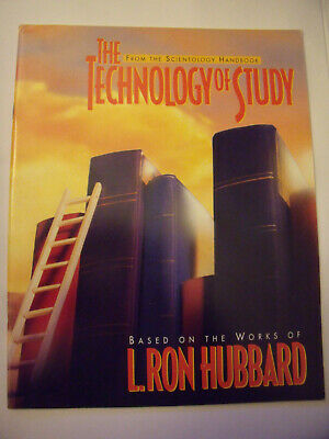 THE TECHNOLOGY OF STUDY SCIENTOLOGY HANDBOOK BOOKLET  L. Ron Hubbard