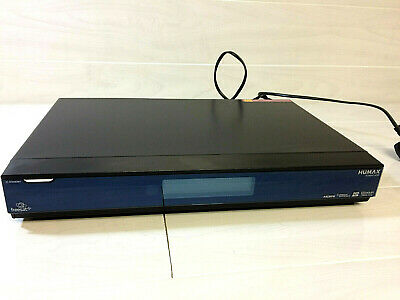 Humax FOXSAT-HDR 500GB Twin Tuner Freesat Receiver Box -  PVR Recorder - REMOTE
