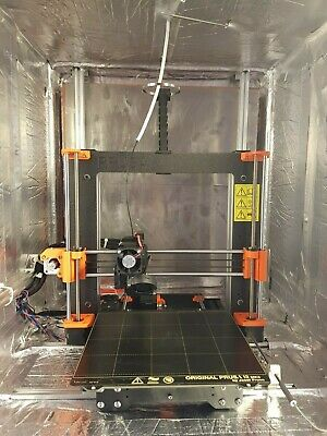 Prusa I3 Mk3 Upgraded To Mk3S With Heated Enclosure