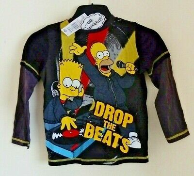 The Simpsons T-Shirt age 7-8 brand new with tags official licenced product