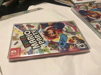Super Mario Party Standard Edition - Nintendo Switch New Sealed