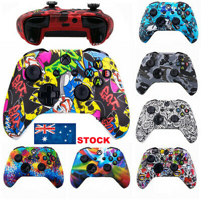 AU Skins Protective Grip Cover Case For Microsoft Xbox One Controller Gamepad