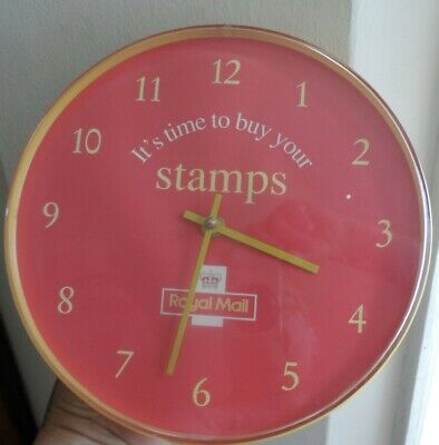 Post Office genuine official wall Clock Retro Vintage Royal Mail GPO Memorabilia