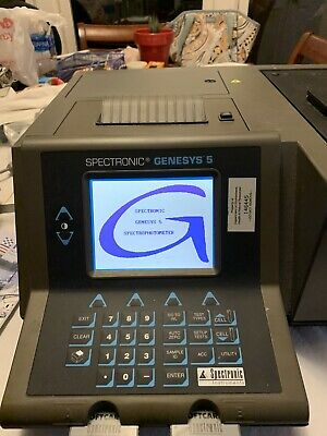 Thermo Spectronic Genesys 5 Laboratory Concentration Rate Spectrophotometer