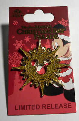 Disney Parks Magical Christmas Day Parade LR 2019 Pin Mickey New On Card
