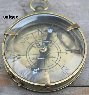 Halloween Solid Brass Spencer Compass Marine Collectible Mini Compass Best Gift