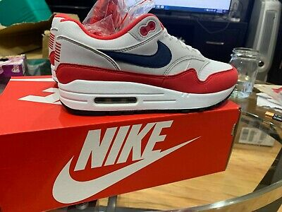 2018 cipők olcsóbb új termék W BOX NIKE AIR MAX 1 USA Size 5 4th OF JULY QUICK STRIKE BANNED ...