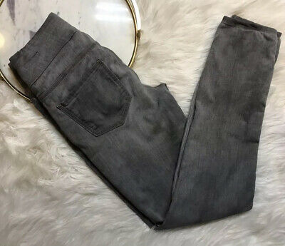 Jag Jeans Womens Gray Distressed Pants Size 2 High Rise Skinny Jeans