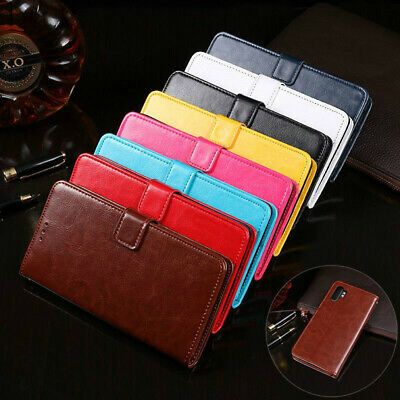 For Samsung Galaxy Note 10 10+ Plus 5G Wallet Leather Case Flip Card Cover
