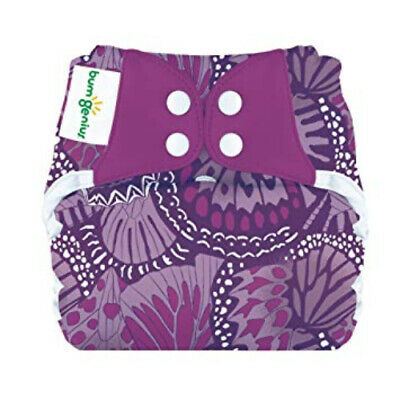 BumGenius Elemental Organic All-in-One Cloth Baby Diaper - One Size Fits Most