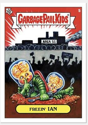 Topps Limited Garbage Pail Kids GPK 2019 Was The Worst Freein' Ian #5 PR: 626