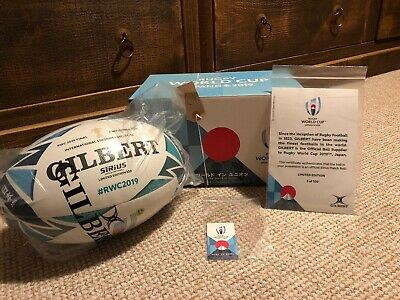 Rugby World Cup Ball 2019 Official Final Ball England South Africa Number 5/100