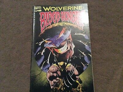 X-men - Wolverine blood hungry Graphic Novel - Marvel