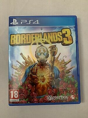 borderlands 3 ps4 **includes gold weapon skin pack**