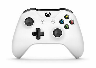 Official Xbox One Wireless Controller 3.5mm Headphone Jack - White