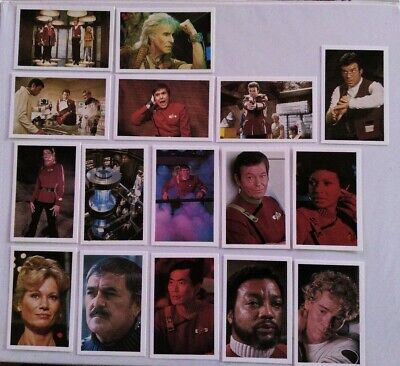 Rare Star Trek Roddenberry Promotional Card Set #2110, STII: The Wrath of Khan.