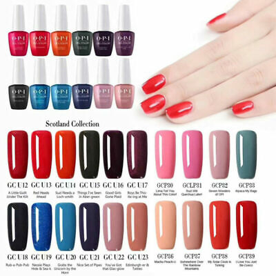 Women OPI Nail Art Gel Color Polish Soak-off UV/LED Manicure Varnish 155 Colors