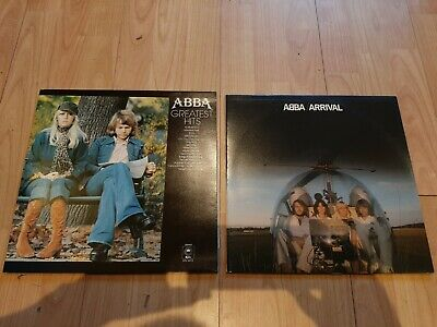 "2 X Abba 12"" Vinyl Album - Arrival - Greatest Hits - Excellent Condition"