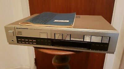 Lecteur CD MARANTZ CD-74  WITH ORIGINAL MANUAL TESTED AND WORKS