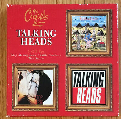 Talking Heads - The Originals - 3 CD Box Set + Once in a Lifetime The Best Of CD