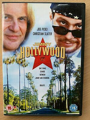 Jimmy Hollywood DVD 1994 Cult Crimine Commedia Film W / Joe Pesci & Christian