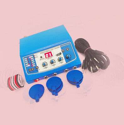 New electro therapy physical fast pain relief tens machine 4 channel massager