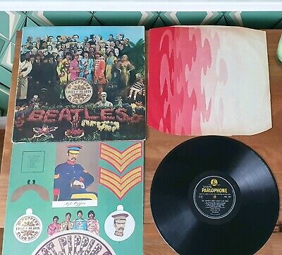 The Beatles - Sgt peppers lonely hearts club band vinyl 1967