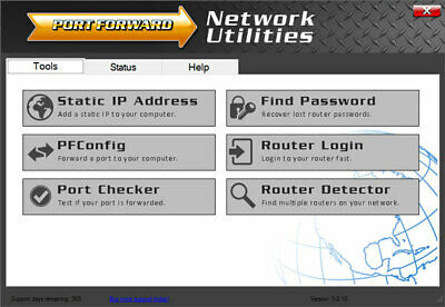 Port Forward Network Utilities - Gaming port forwarding software PC/XBOX/PS