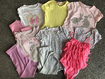 (1) Girls Summer Outfit Bundle, Age 5-6