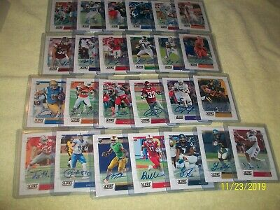 2019 Score  Rookie Autograph Lot Of 25  Fresh All Different