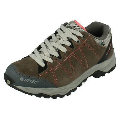 Ladies Hi Tec Libero Ii Wp Womens Lace Up Waterproof Shoes Hiking Trainers Size