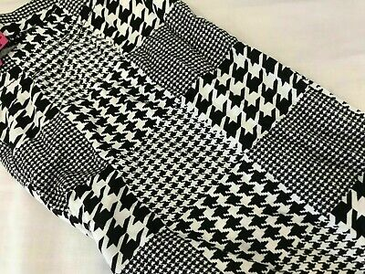 Boohoo Black & White Aztec Print Leggings Size 8 New Without Tags Made In UK