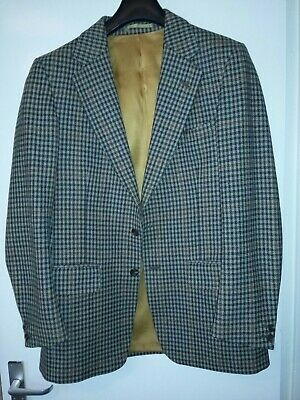 """Gents Vintage Tweed Sports Jacket by Bladen made in England 38-40"""" pure new wool"""