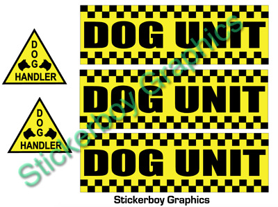 Dog Unit Magnet Battenberg Security K9 Handler UNIT Magnetic SIA Patrol KIT