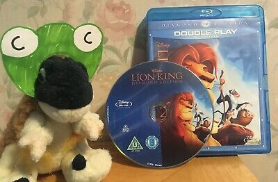 THE LION KING on Disney BLU RAY only original animated classic Diamond Edition